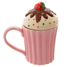 Cute Cupcake Mug with Lid