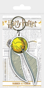 Harry Potter Golden Snitch Keyring - Free Shipping