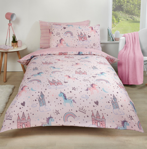 Unicorn Kingdom (Children) Duvet Cover Set