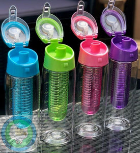 Customisable Sports/Hobbies Fruit Infuser Water Bottle - Can also be Personalised