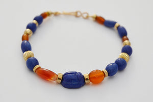 Authentically created and designed Egyptian-inspired jewellery by Cate Fasnacht.