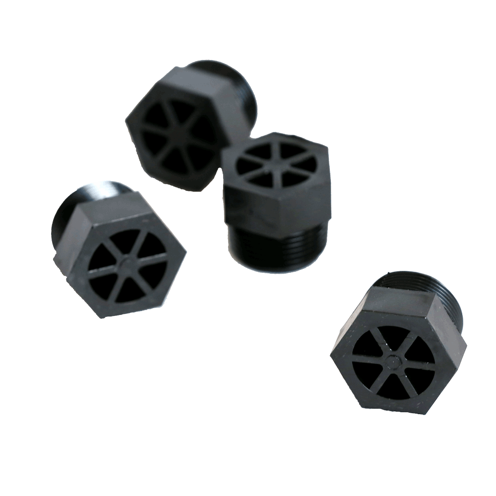 "3/4"" Pipe Plug Hex Head NPT (Plastic)  