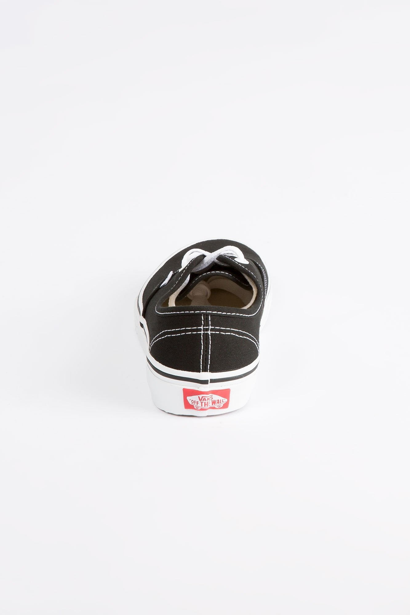 Vans Youth Black And White Authentic