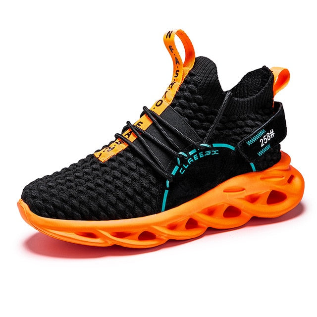 Rubber Cushioning Running Sneakers Large Size Breathable Men Shoes Super Light Gym Women Chaussure High Quality 2020 New Arrival