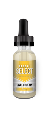 Banzai Select Sweet Cream