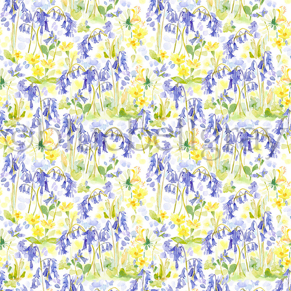 Bluebell Woods Fabric