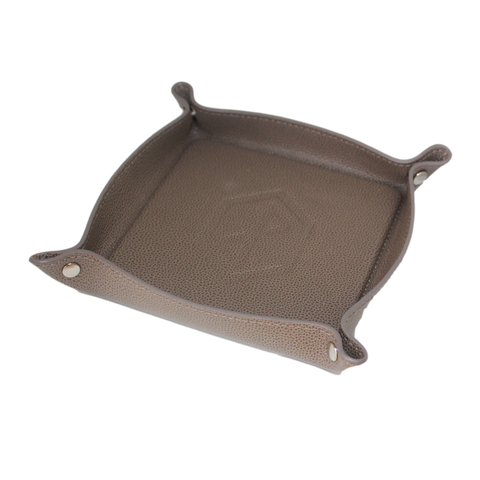 Leather Catchall Tray - Caraway