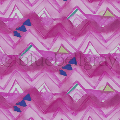 Mounia Cerise Fabric