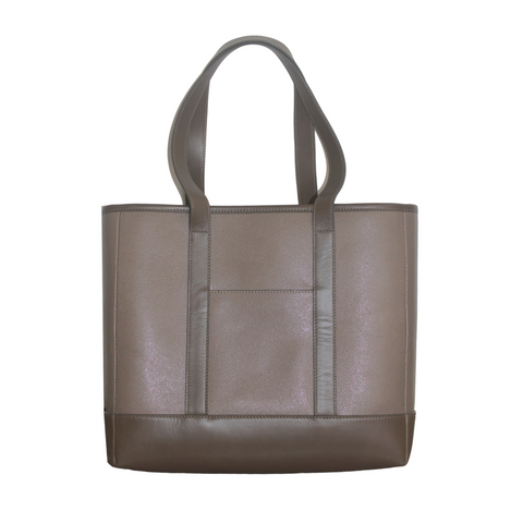 Leather Tote - Caraway
