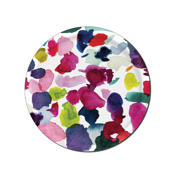 Abstract Circular Tray