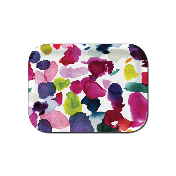 Abstract Small Rectangular Tray