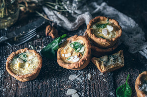 GLUTEN & DAIRY FREE CHICKPEA MINI QUICHE