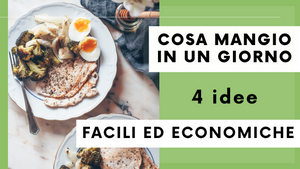 COSA MANGIO IN UN GIORNO | I pasti per RIMANERE IN FORMA | What I eat in a day