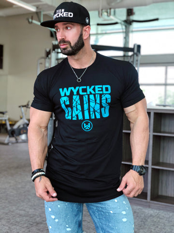 WYCKED GAINS - CAROLINA BLUE