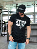 WYCKED GAINS - BLACK & WHITE