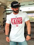 WYCKED GAINS - WHITE & WYCKED RED