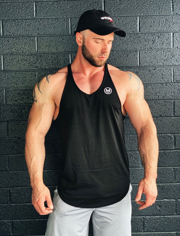 Black Stringer with Signature Patch