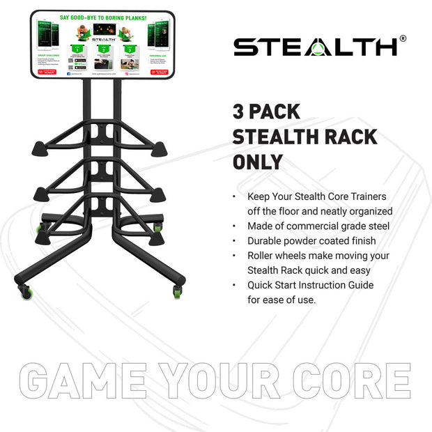 3 Pack Rack - Rack Only