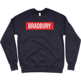 Bradbury raglan box logo jumper - Bradbury Clothing CO