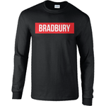 Bradbury Long sleeve Box logo tee - Bradbury Clothing CO