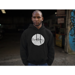 Bradbury White logo hoodie - Bradbury Clothing CO