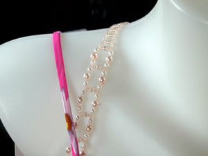 Swarovski Rosaline Adjustable Beaded Bra Straps DIY Kit