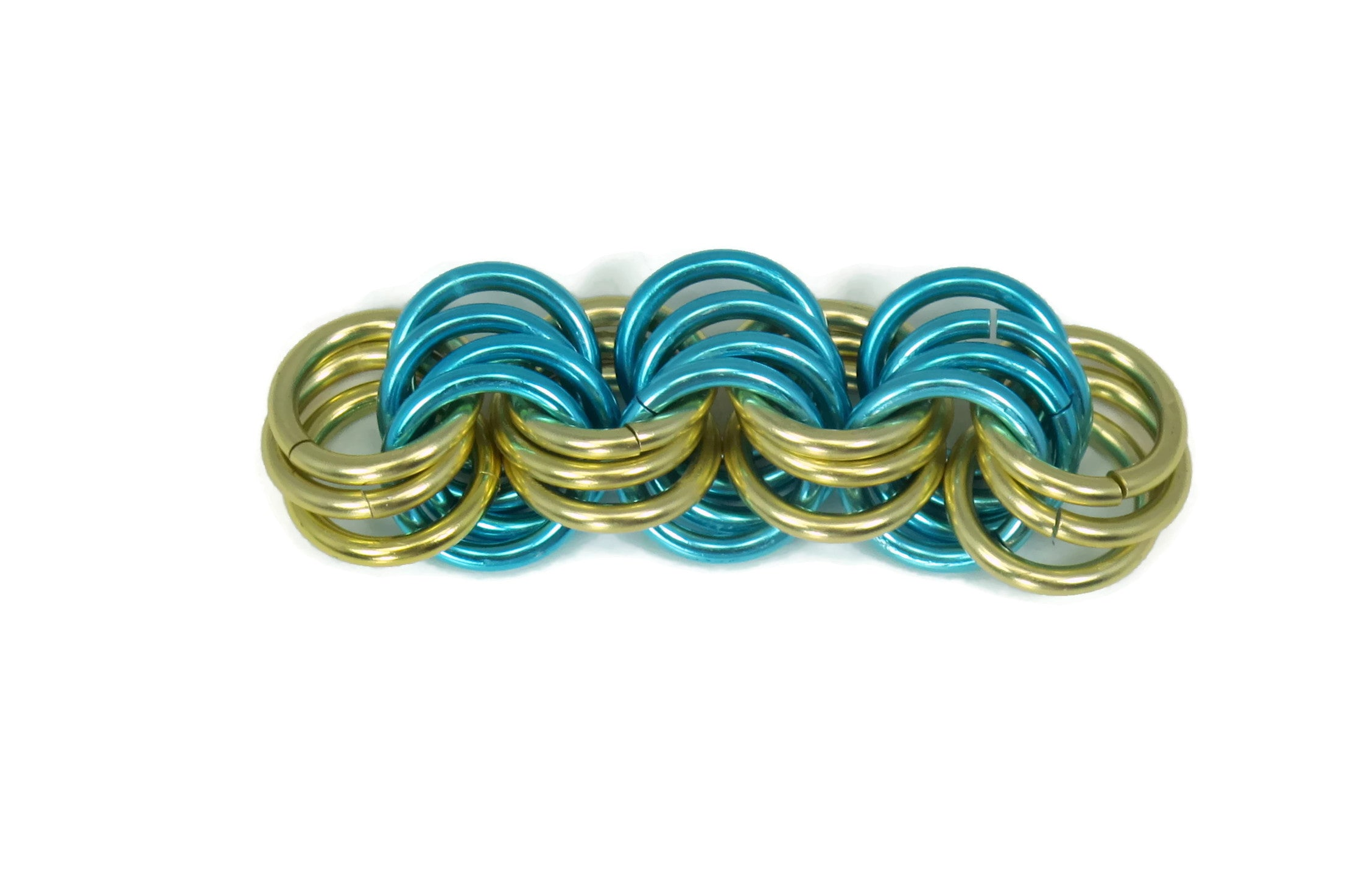 Chainmaille GutsyGuide: Mastering the Basics 3-4-3 Chain