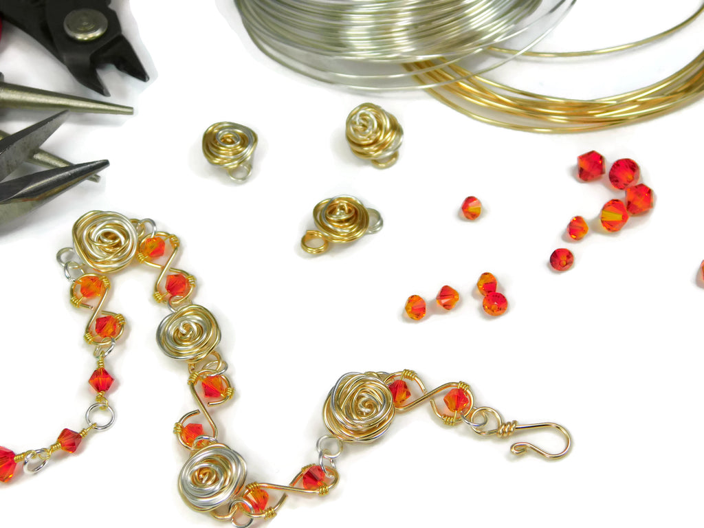 Wire Wrapping GutsyGuide: Mastering the Basics Course DIY Wire Wrapping Kit
