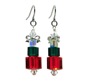 Swarovski Crystal Present Stack Earrings