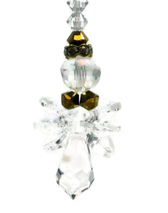 Swarovski Crystal Angel Ornament