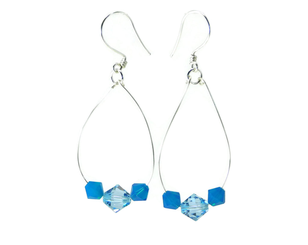 Swarovski Dangle Earrings DIY Wire Wrapping Kit