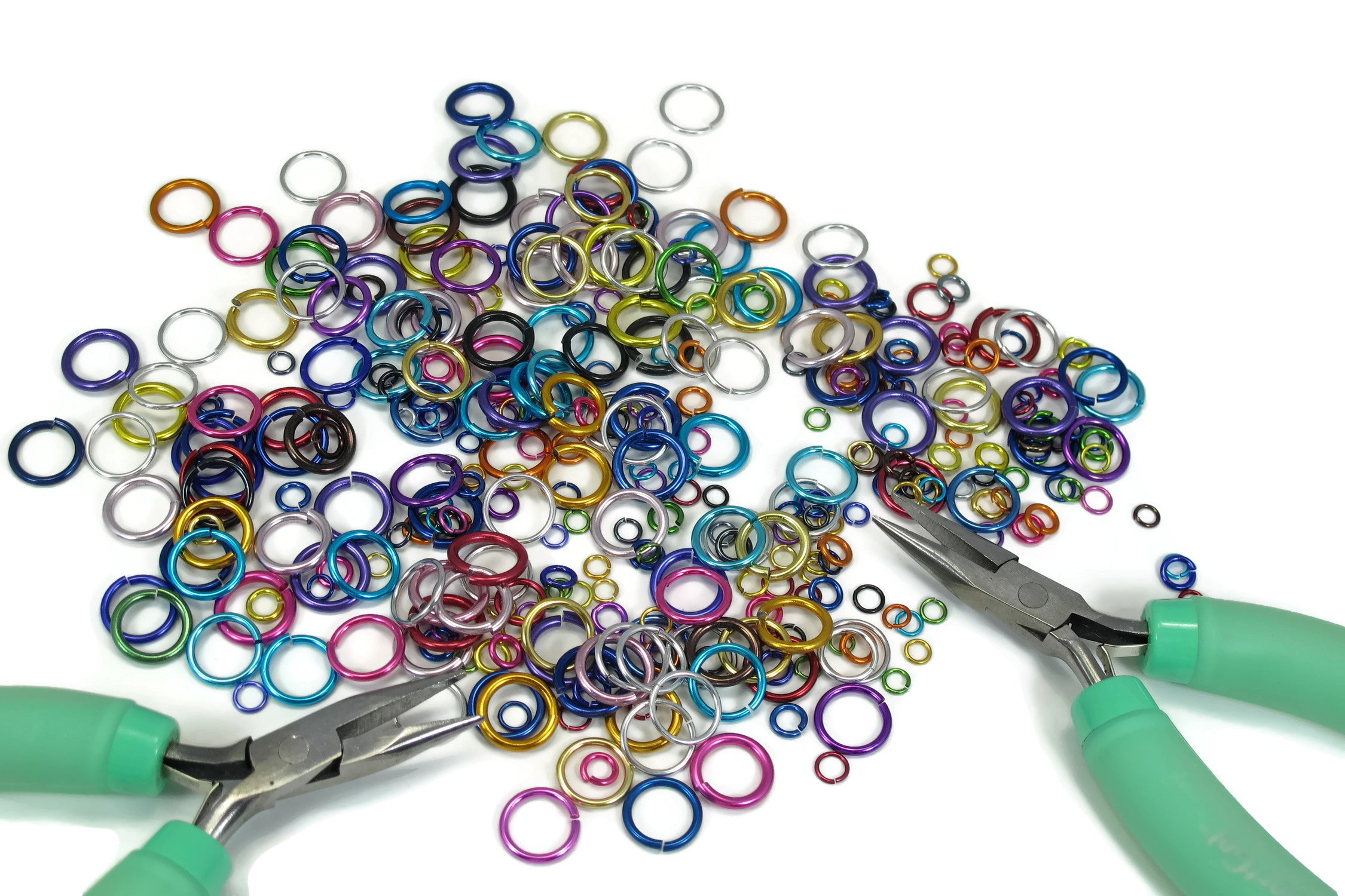 Chainmaille DIY Course Kit Jump Rings Pliers