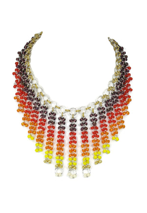 Epic Sunrise Necklace Chainmaille DIY Kit