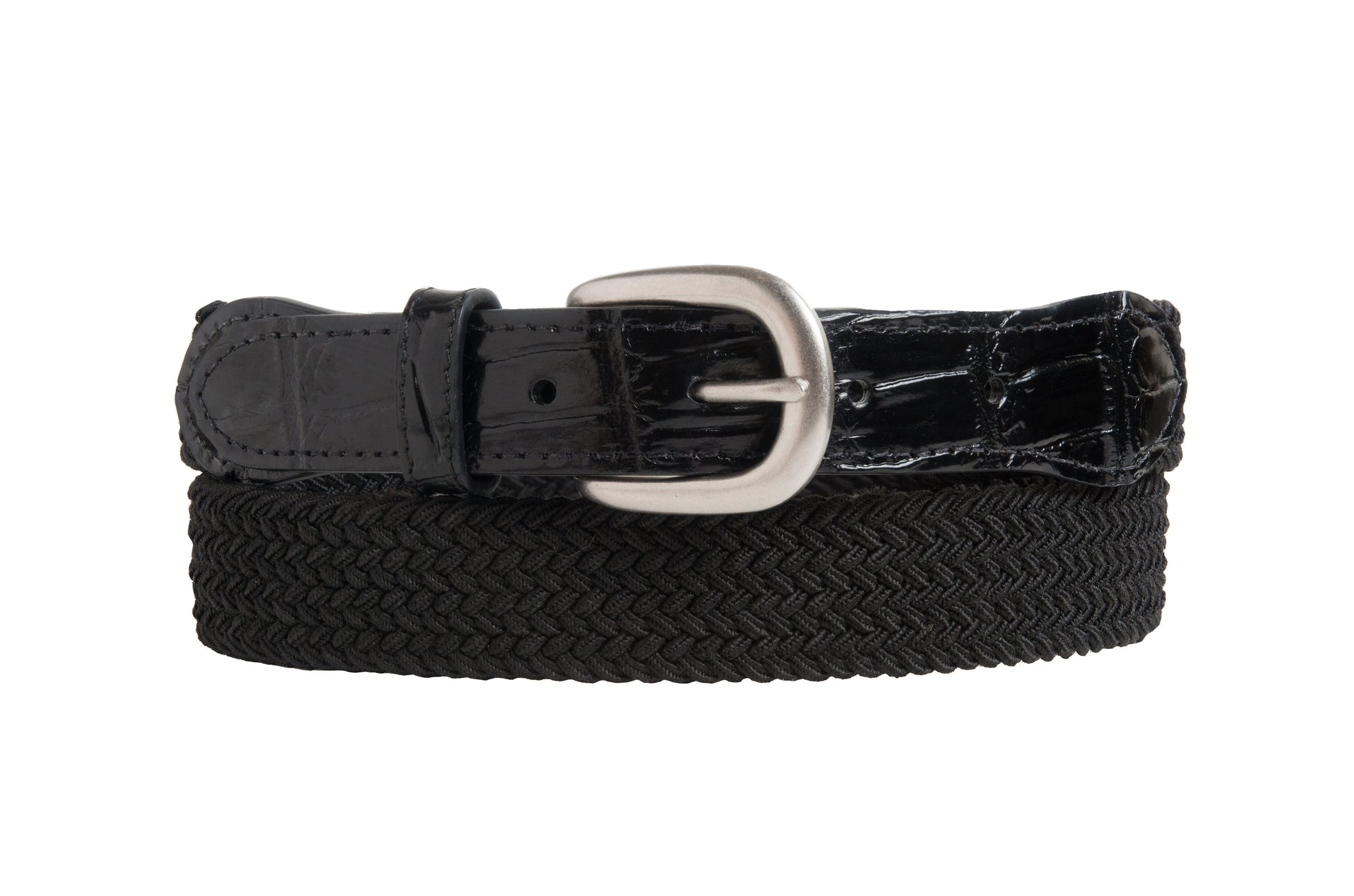"Braided Cotton with ""fancy leather"" trim (USA)"
