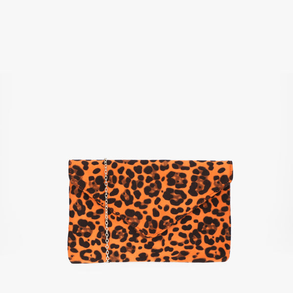 Clutch Bold Safari naranja