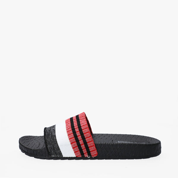 Sandalias Power band multi negro