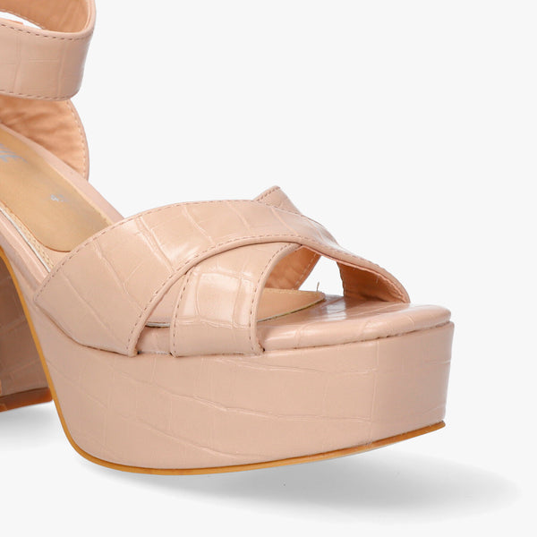 Zapatillas Molly nude