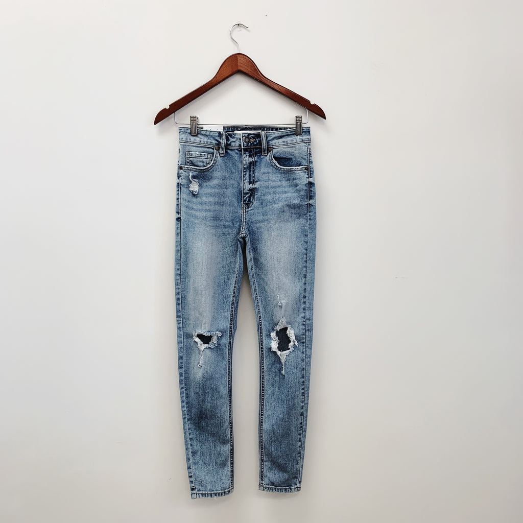 The Bella Super High Rise Denim | Light Wash |