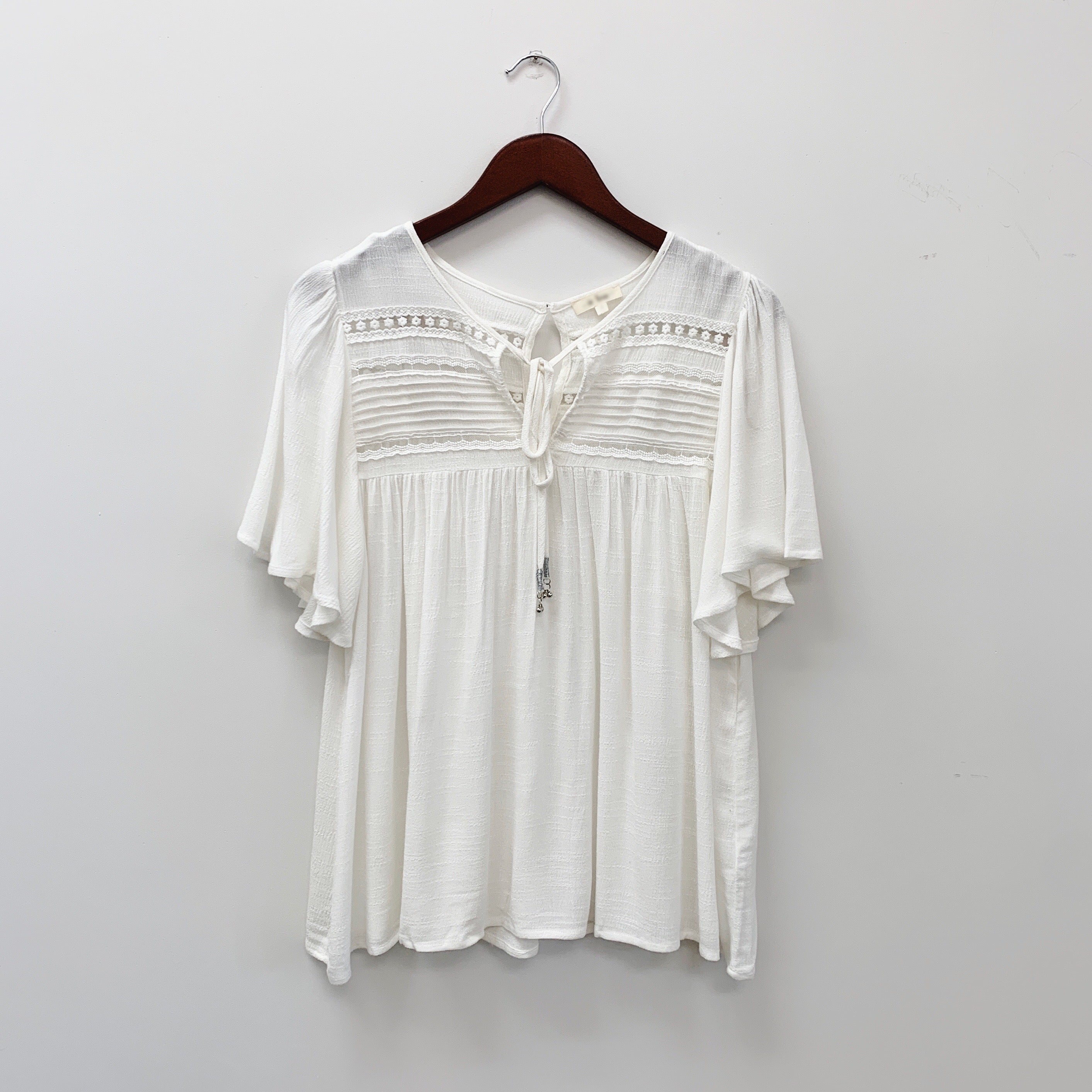 The Julie Blouse | Ivory |