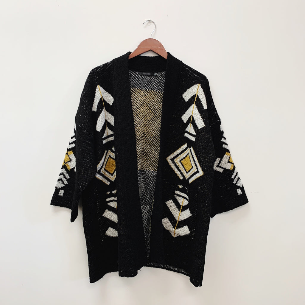 The Waylon Knit Cardigan | Black |