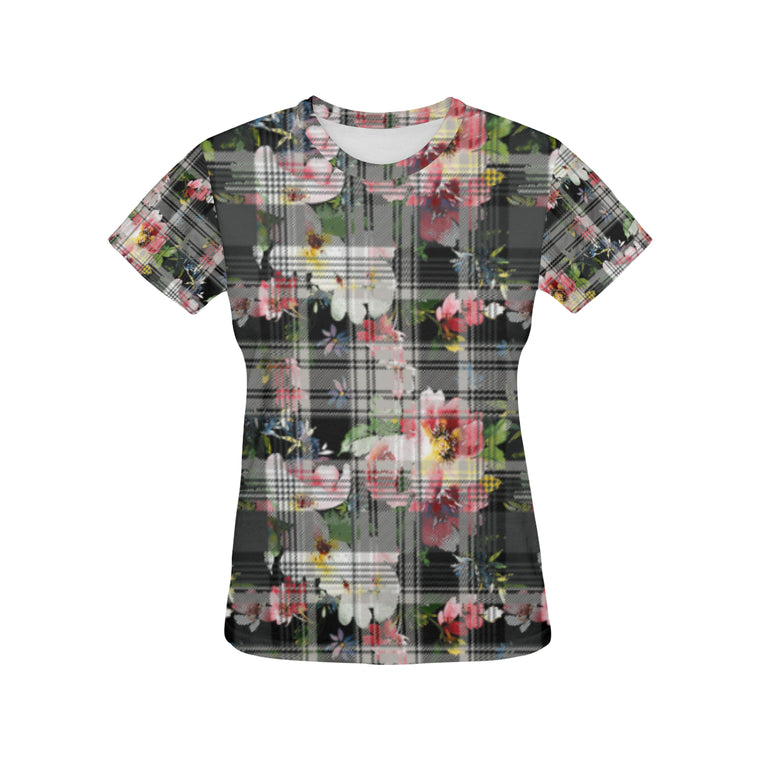 VIVIAN All Over Print T-Shirt for Women (USA Size) (Model T40)