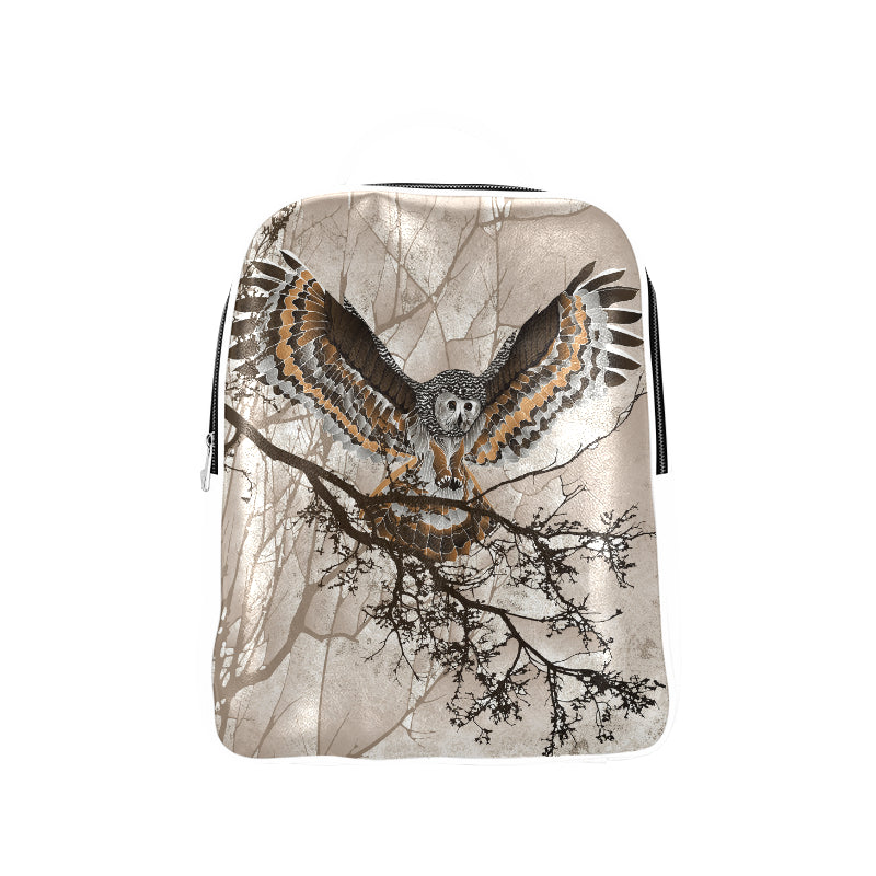 OWL ON BRANCH Popular Backpack (Model 1622)
