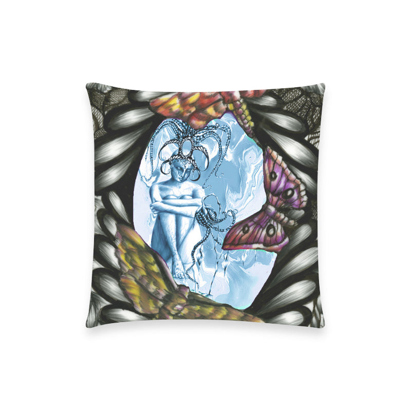 "Lost Custom  Pillow Case 18""x18"" (one side) No Zipper"