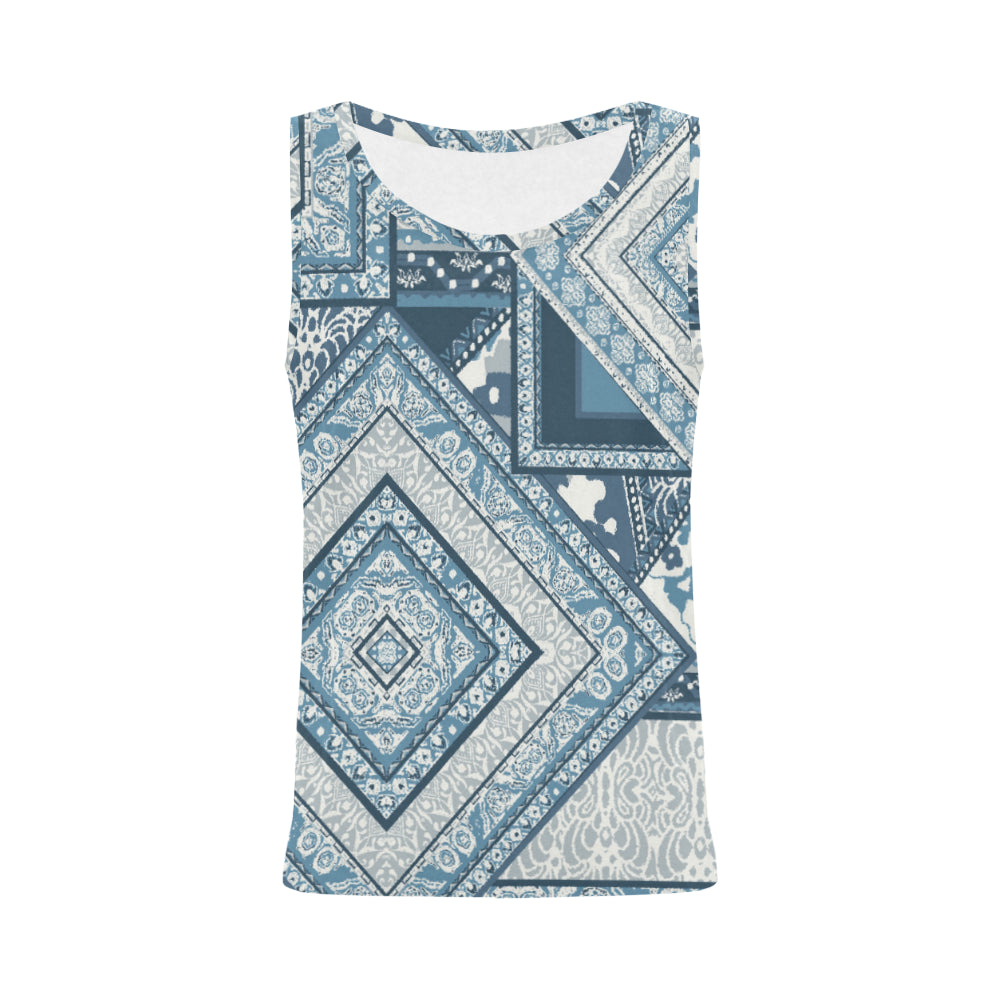 Sara All Over Print Tank Top for Women (Model T43)