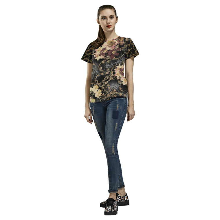 MARIKA All Over Print T-Shirt for Women (USA Size) (Model T40)