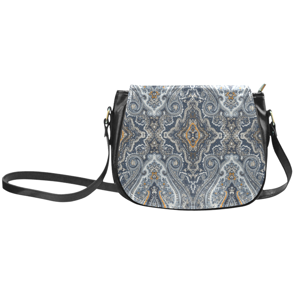 PAISLEY Beauty Classic Saddle Bag/Small (Model 1648)