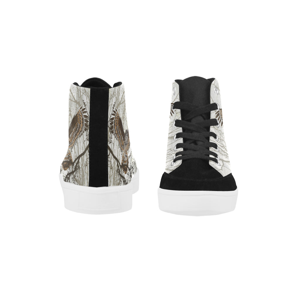 NIGHT OWL Herdsman High Top Shoes for Women (Model 038)