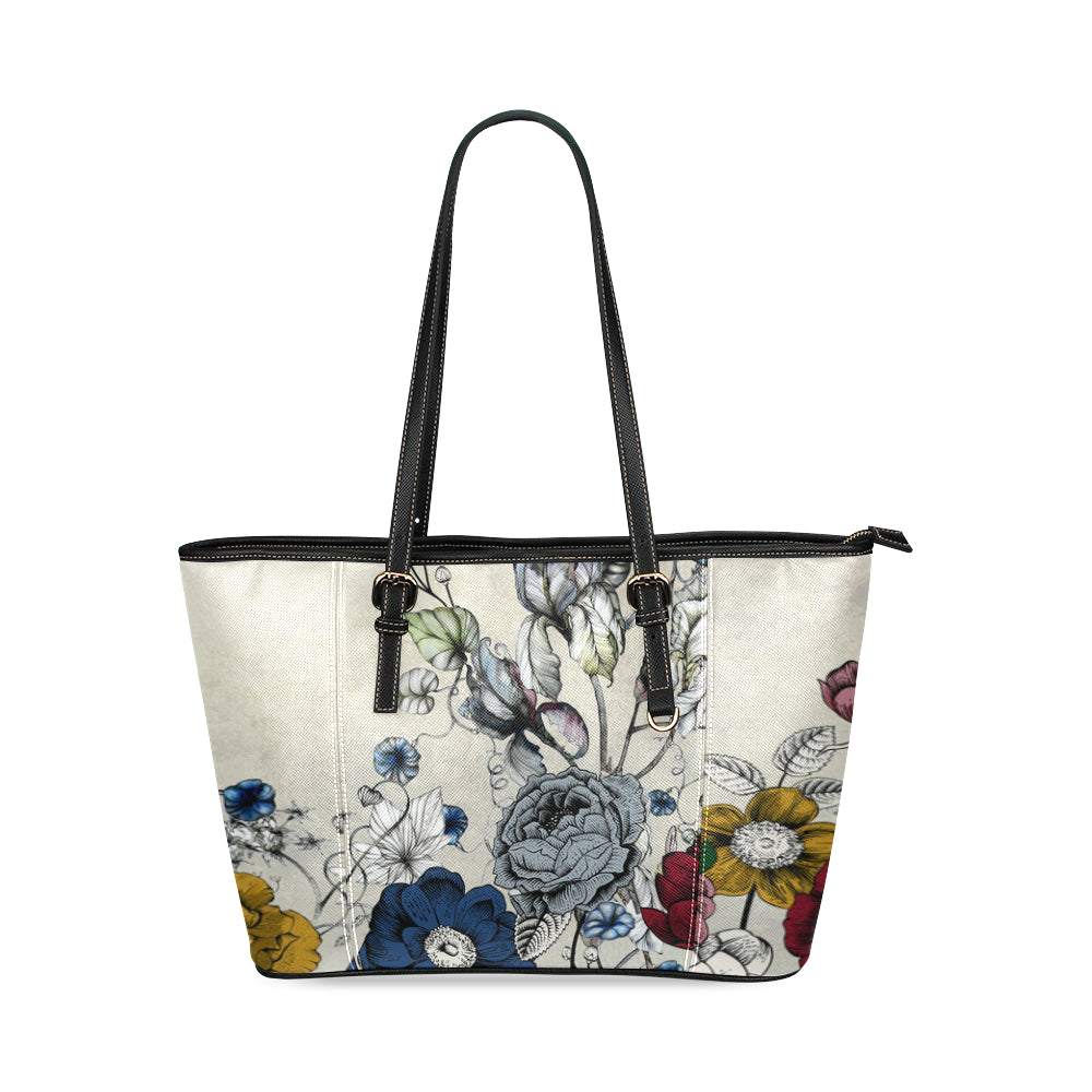 ANESA Leather Tote Bag/Small (Model 1640)