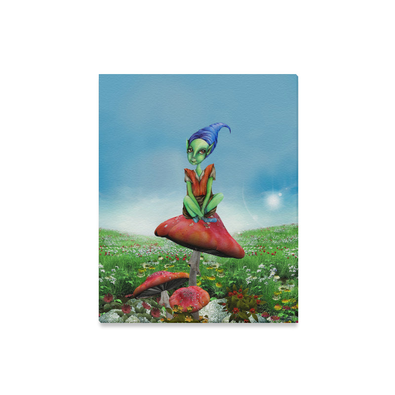 "Elf Canvas Print 16""x20"""