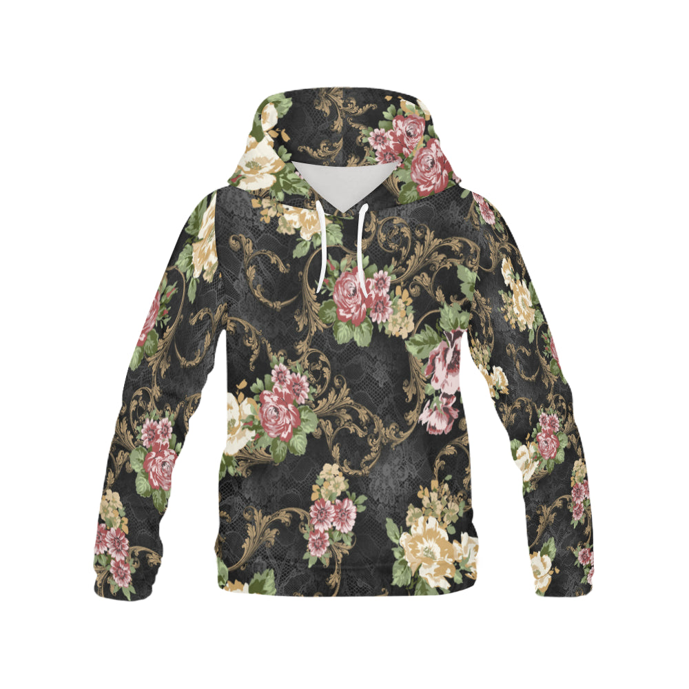 MANDY All Over Print Hoodie for Women (USA Size) (Model H13)